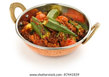 bhindi masala, okra curry