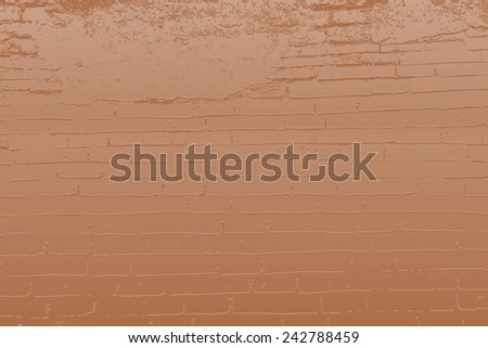 Bick wall effect background - stock photo