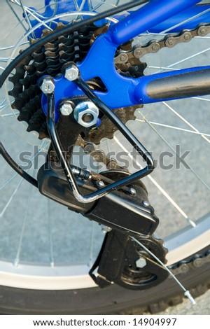 Bicycle Derailleur - stock photo