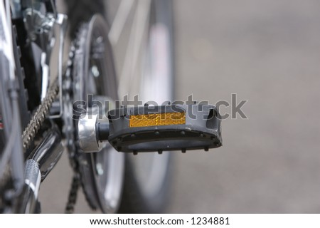 Bicycle Detail - stock photo