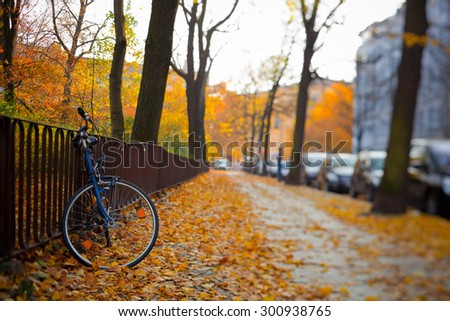 Bicycle in Berlin - stock photo