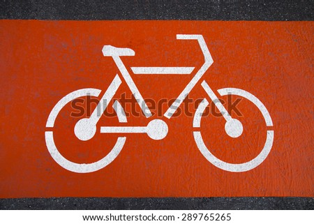 Bicycle Lanes - stock photo
