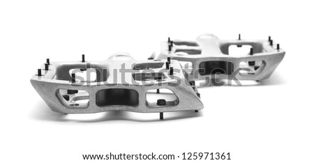 bicycle pedals - stock photo