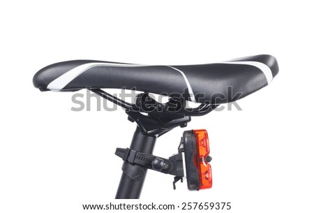 Bicycle Seat in White background