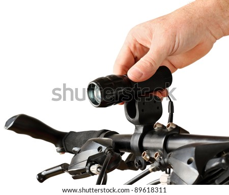 Bicycle Torch - stock photo