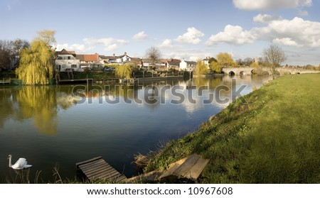 bidford on avon - stock photo