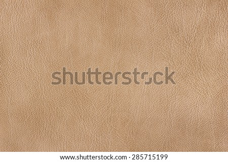 biege leather texture - stock photo