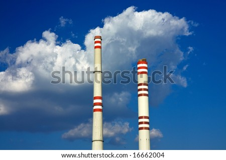Big and small chimneys