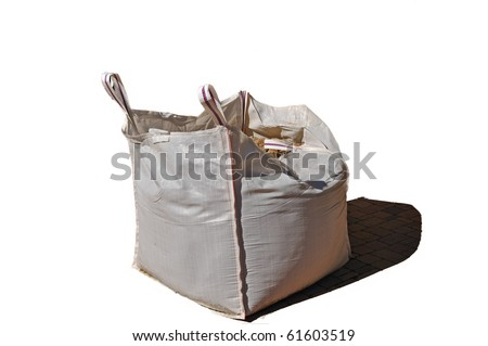 Big bag for transporting different materials