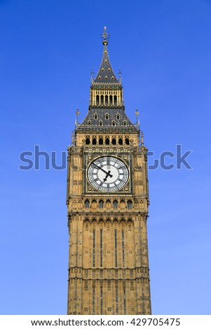 Big Ben and Houses of parliament,