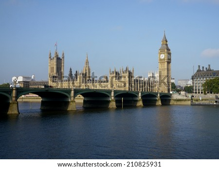 big ben and houses of parliament, london, england
