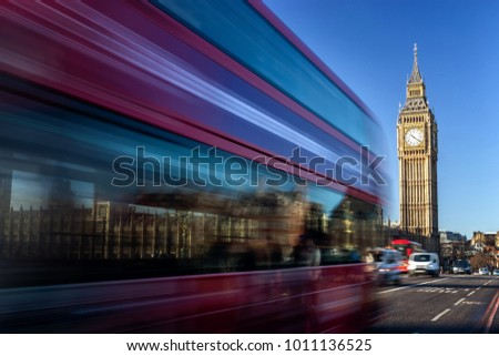 Big Ben in a sunny morning, London, United Kingdom