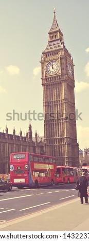 Big Ben, London, UK - stock photo