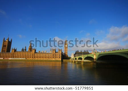 Big Ben &the House of Parliament