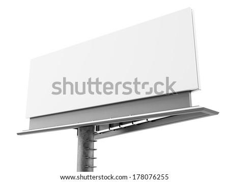 big billboard - stock photo