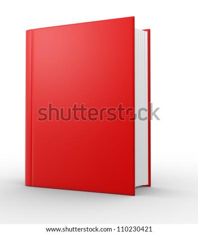 Big book. 3d render illustration - stock photo
