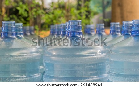 Big Bottle of Drinking Water - stock photo