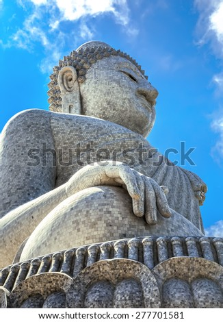 Big Buddha in soth of Phuket,Thailand