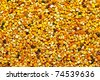 Big bunch of bee pollen granules texture - stock photo