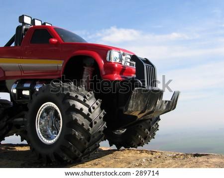 big car - stock photo