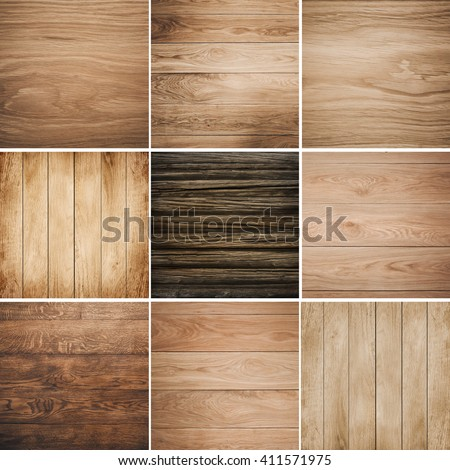 Big collection of wood background
