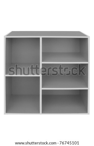 Big colorful cabinet. - stock photo