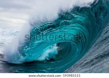 big crashing wave