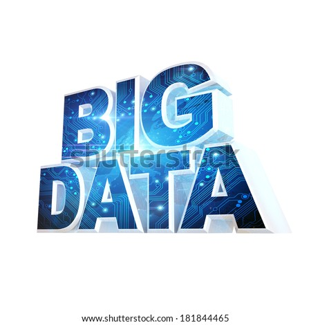 BIG DATA concept III - stock photo