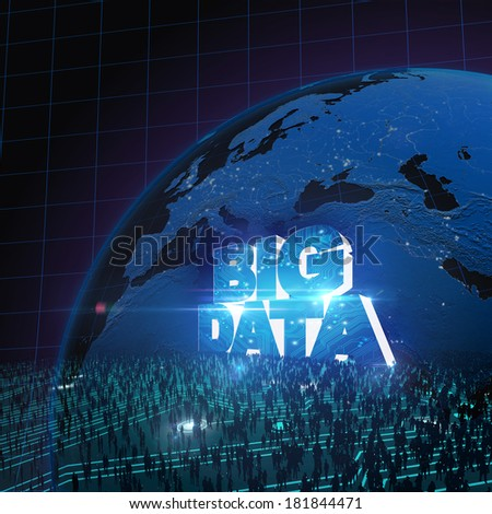 BIG DATA concept V - stock photo