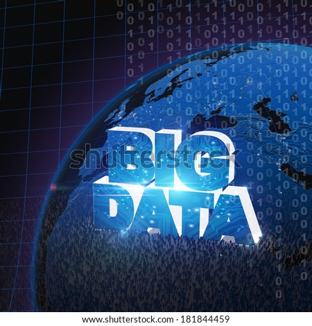 BIG DATA concept VI - stock photo