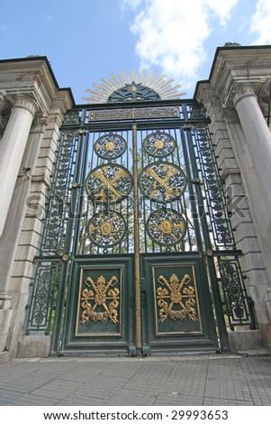 Big Door - stock photo