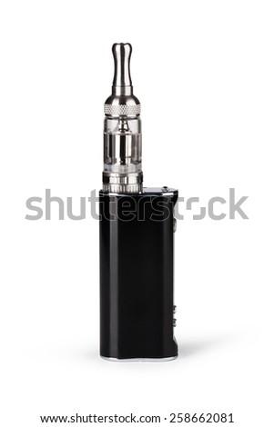 big electronic cigarettes isolated on white - stock photo