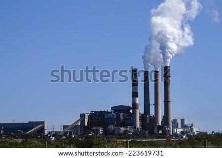 Big Factory  - stock photo