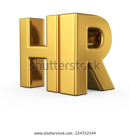 Big gold letters hr isolated on stock illustration 224352544 big gold letters hr isolated on white background human resources department thecheapjerseys Image collections