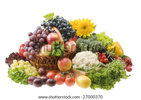 Fruits and Vegetables  Frutas y vegetales English and