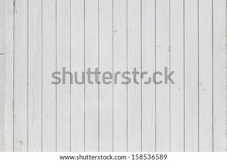 Big Grunge White Old Wood Background  - stock photo