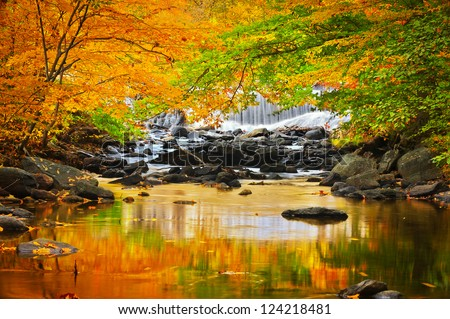 Big Hunting Creek - stock photo