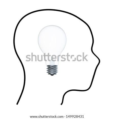 Big idea - stock photo