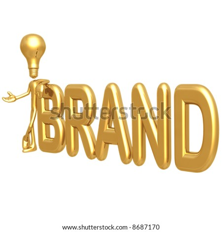 Big Idea Brand - stock photo