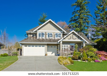 Nice home stock photos images pictures shutterstock for Big houses in america