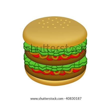 Big Mac - stock photo