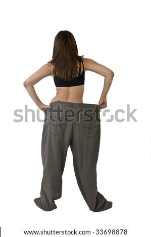 Big pants - stock photo