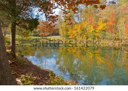 Big Ridge State Park, Maynardville, Tennessee - stock photo