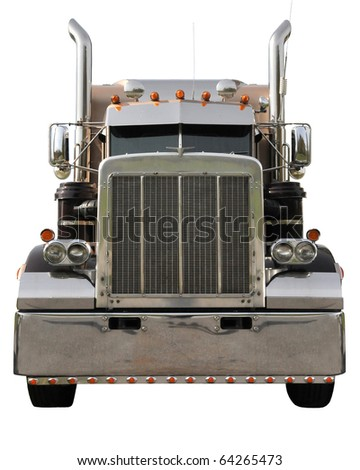 Big Rig / Truck Tractor - stock photo