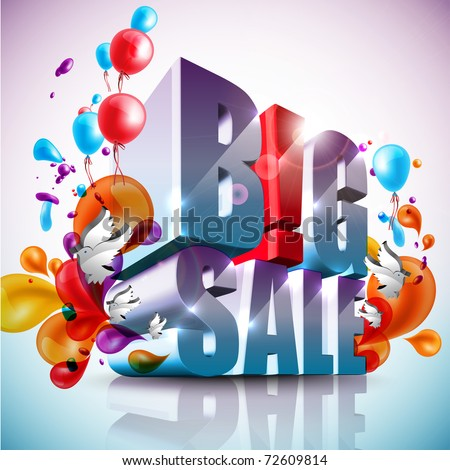 Big Sale - stock photo