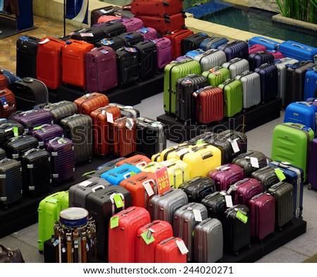 Luggage Store Stock Images, Royalty-Free Images & Vectors ...