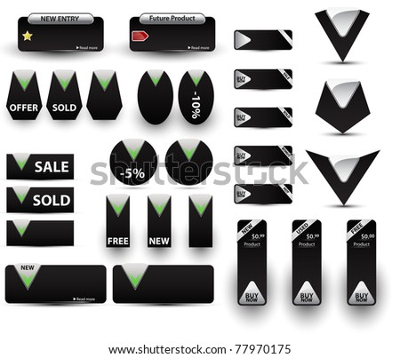 Big set of price tags.Vector version available in my gallery.