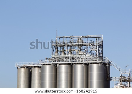 Big silos in the industry