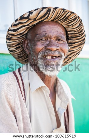 Big smile and only half the teeth, but laughter stays the most important. - stock photo