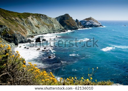 Big Sur California - stock photo